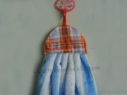 ผ้าเช็ดมือแบบเย็บผ้าลาย Hand322