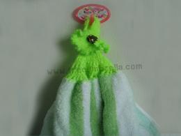 ผ้าเช็ดมือแบบถักผ้าลาย Hand314