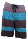 กางเกงชายหาดขาสั้นสีเขียว