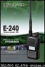 วิทยุสื่อสาร STANDARD รุ่น E-240
