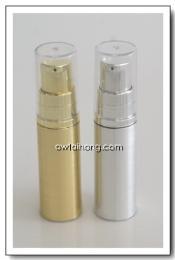 ขวดปั๊มสูญญากาศ 5ml เงินชุด-ทองชุด Airless Bottle 5ml