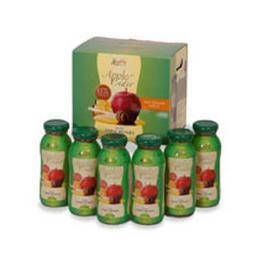 น้ำแอปเปิ้ลไซเดอร์ผสมน้ำผึ้งดอกลำไยและมะนาว