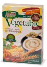 เครื่องดื่มธัญญาหารผสมผักรวม(ไม่ผสมน้ำตาล) 405 g.