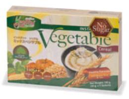 เครื่องดื่มธัญญาหารผสมผักรวม(ไม่ผสมน้ำตาล) 135 g.