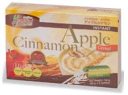 เครื่องดื่มธัญญาหารผสมแอปเปิ้ลและอบเชย 150 g.