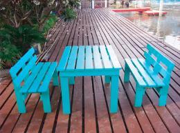 ชุดโต๊ะ + เก้าอี้สนาม