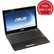 เครื่องคอมพิวเตอร์โน๊ตบุค ASUS รุ่น A43SD-VX303D