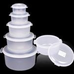 กล่องไมโครเวฟ - กลม 2 หู Microwave - Round w/2 Handles  055-059