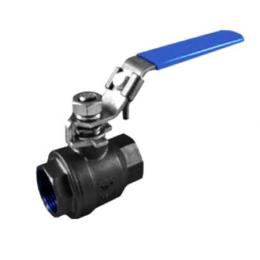 2-pc Cast Steel 316 Ball Valve