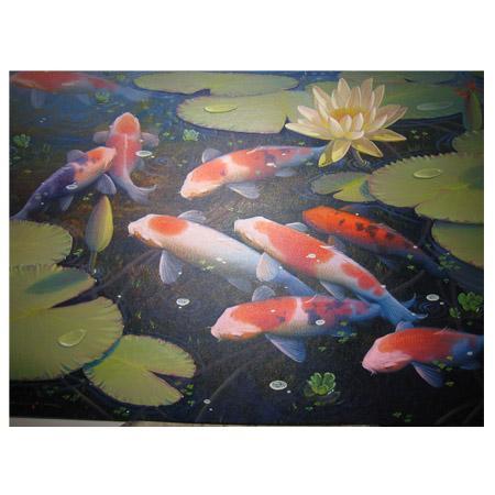 ภาพวาดสีน้ำมัน อ. ไชโย (24x36inch)