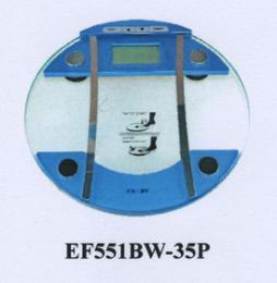 เครื่องชั่งวัดปริมาณไขมัน รุ่น EF551BW-35P