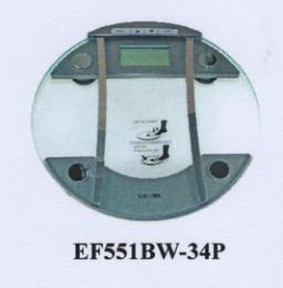 เครื่องชั่งวัดปริมาณไขมัน รุ่น EF551BW-34P