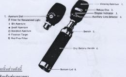 Halogen Diagnostic Set เครื่องตรวจตา
