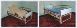 เตียงเฟาว์เลอร์หัวท้ายบุโฟเมก้า 2 ไก พื้นโลหะพ่นสี