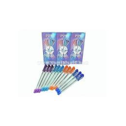 ปากกาลูกลื่น 12 ด้าม bp-0986 สีน้ำเงิน