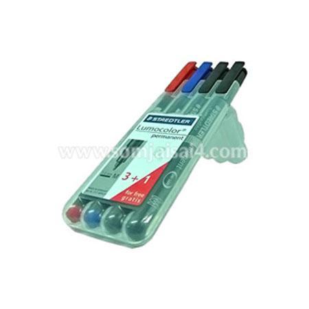 ปากกาหมึก permanent 3+1