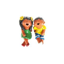 ตุ๊กตาดินเผาเด็กเล็ก (SCD029)