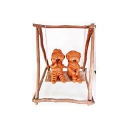 ตุ๊กตาดินเผาเด็กนั่งชิงช้า (SCD 002 )
