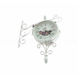 นาฬิกาสองหน้าขาเหล็ก