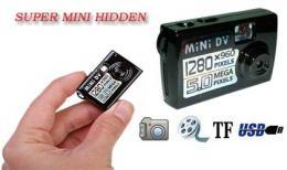 กล้องขนาดเล็ก Super Mini Hidden Spy