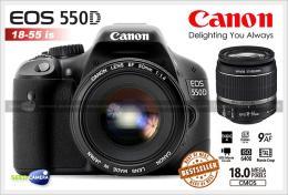 กล้องดิจิตอล Canon EOS 550D