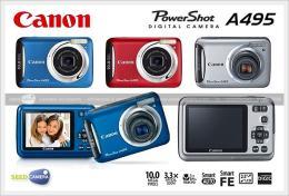 กล้องดิจิตอล Canon PowerShot A495