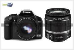 กล้องดิจิตอล Canon 450D & 18-55is (SD4Gb)