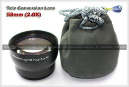 เลนส์ Rowa Tele Conversion Lens 58mm (2.0X)
