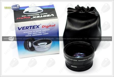 เลนส์ Vertex Wide Conversion Lens + Macro 52mm