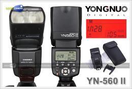 แฟลชYongnuo YN560 II + Eneloop AA 4