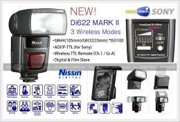 แฟลชNissin Flash Speedlite Di622