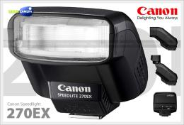 แฟลช Flash Canon Speedlite 270EX
