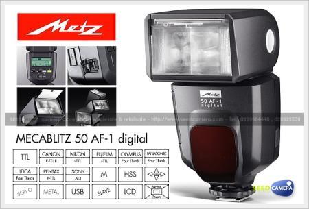 แฟลชMetz Mecablitz 50 AF-1 Digital