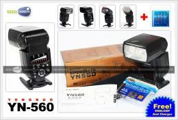 แฟลชYongnuo YN560 + Eneloop AA 4