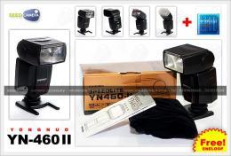 แฟลช Yongnuo YN460 II + Eneloop AA 4