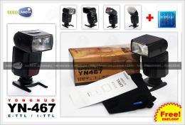 แฟลช Yongnuo YN467 E-TTL Canon