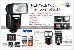 แฟลช Nissin Flash Speedlite Di866