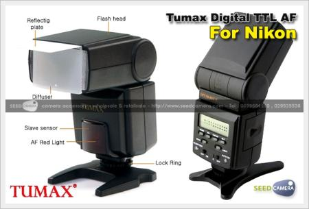 แฟลช Tumax DPT386AFZ-N Digital TTL AF