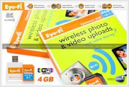 เมมโมรี่การ์ด Eye-Fi Connect X2 SD Card 4 Gb