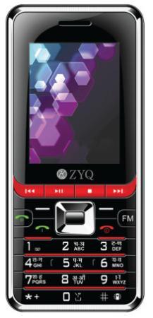 โทรศัพท์มือถือ ZYQ รุ่น Q2626 Enjoy