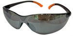 22-ว001-034 แว่นตานิรภัยทรงสปรอต์เลนส์ดำ