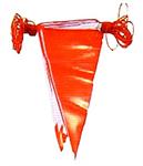 24-ธ001-004 ธงราวขาว-แดง