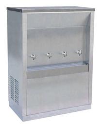 ตู้ทำน้ำเย็น 4 ก็อก แบบต่อท่อประปา รุ่น MC-4P