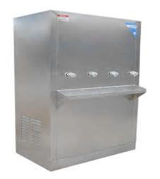 ตู้ทำน้ำเย็น 4 ก็อก แบบต่อท่อประปา รุ่น MC-4PC
