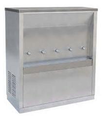 ตู้ทำน้ำเย็น 5 ก็อก แบบต่อท่อประปา รุ่น MC-5P