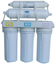 เครื่องกรองน้ำดื่ม เเบบ 5 ขั้นตอน + UF (พลาสติก)