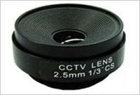 เลนส์ 2.5 มม. CCTV