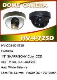 กล้องวงจรปิด HV-725D