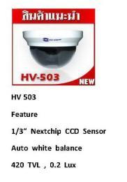 กล้องวงจรปิด HV-503