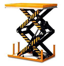 เครื่องยกสินค้า Double Scissor Lift Table